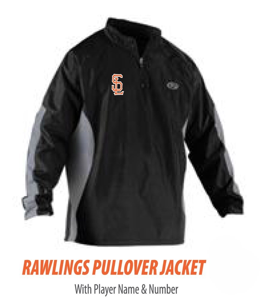 Rawlings 1/4 Zip Warm-up Jacket